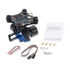 Black CNC FPV Quadcopter BGC 2 Axis Brushless Gimbal +Controller for GoPro3 G0F6