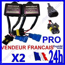 2 HOUSING CAPACITOR RESISTANCE CANBUS ANTI ERRORS WITHOUT DEFAULT HID XENON KIT