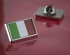 Italy Italian Flag Pin/Lapel Badge