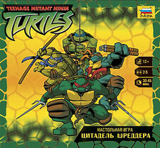 TURTLES Shredder's Citadel TMNT - official Board game, Card Tabletop Tactical RU