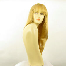Perruque femme longue blond clair doré NOEMIE LG26