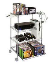Atlantic Gamekeeper Wire 4 Tier Tower For Gaming Gear In Silver 45506019 New