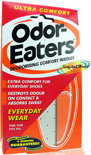 Odor Eaters Ultra Comfort Washable Deodorising Insoles Everyday Wear