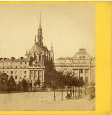 ALBERT HAUTECOEUR PARIS FRANCE STEREOVIEW LA SAINTE-CHAPELLE (HOLY CHAPEL) PARIS
