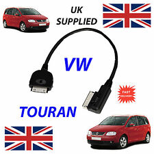 VW TOURAN MDI 000051446J For Apple iPhone iPod 4th Gen Audio Cable & Tagging