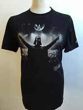 STAR WARS Mens Welcome To The Darkside T Shirt CHUNK BLACK Size XL Darth Vader