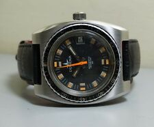 VINTAGE DUGENA Automatic DATE SWISS MADE WRIST WATCH e395 Old used antique