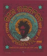 Ben Harper 1999 Hult Center Eugene SIGNED Gary Houston Poster 59/160