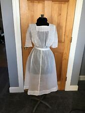 Antique Edwardian Garden Dress,Wedding, Tea Party, Lace