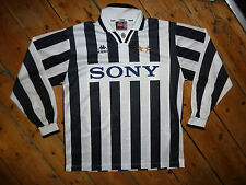 XL + JUVENTUS ITALY 1995/96 home FOOTBALL SHIRT MAGLIA JERSEY KAPPA LONG SLEEVE