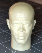 1/6 Custom Samuel Jackson Resin Cast Head Sculpt Hot Sideshow Toys