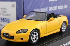 Ebbro 43040 1:43 Honda S2000 AP1 Die Cast Model Sport Car Indy Yellow Pearl