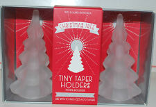 WILLIAMS SONOMA ! CHRISTMAS TREE TINY TAPER CANDLE HOLDER ~ NEW ~ POTTERY BARN