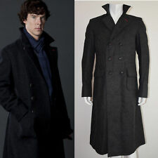 Benedict Cumberbatch  Sherlock Holmes Winter Coat - Fast Shipping !!!
