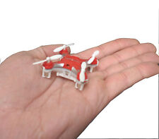 Nano Drone Quadcopter Miniature Indoor Flying Micro Mini RC Toy Colors Vary