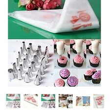 100 PCS Baking Decorating Bag For Baking Cake Tool Disposable Piping Bag Icing N