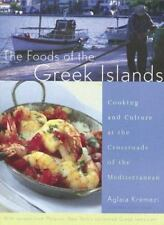 The Foods of the Greek Islands: Cooking and Culture at the Crossroads -ExLibrary
