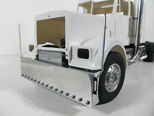 Aluminum Front Bumper & Cross member Mount side pole Tamiya 1/14 RC King Hauler