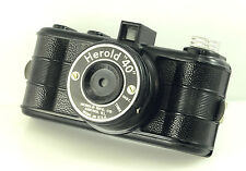Vintage 1950s Herold 40 Bakelite 127 film camera, Art Deco-style , Made in USA