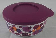 Tupperware Iluminas Klick und Stapel Dose 350 ml Lila Violett Bunt Neu OVP