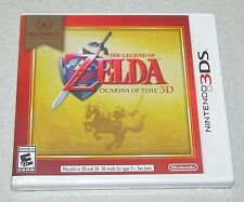 The Legend of Zelda Ocarina of Time 3D for Nintendo 3DS Brand New! Factory Seale