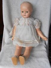 Antique Vintage Effanbee Rosemary Doll As Found Nice Tin Eyes Large 27""