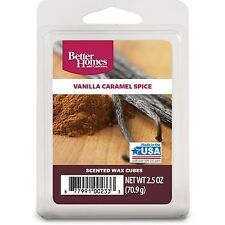 Better Homes and Gardens Wax Cubes, Vanilla Caramel Spice FREE SHIPPING