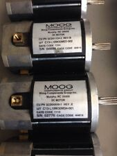 MOOG Miniature High Torque DC Series C13 Servo motors