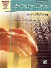 What Can I Play on Sunday? (Alfred's Sacred Performer Collections) by Berry, Ci