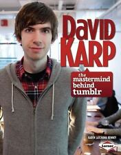 David Karp: The Mastermind Behind Tumblr (Gateway Biographies)-ExLibrary