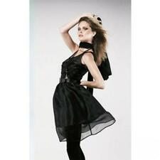 Karl Lagerfeld for H&M black silk tulle dress size 38, 10 UK