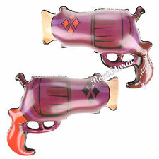 NEW DC Comics Harley Quinn Inflatable Blow Up Toy Gun Halloween Costume Cosplay