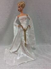 Off White MEdieval Gown Set-for YOUr Barbie Model Muse Body