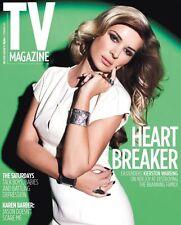 Kierston Wareing - TV Magazine – 2 February 2013