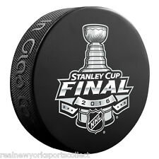 2016 STANLEY CUP FINALS SOUVENIR PUCK BLUES LIGHTNING PENGUINS SHARKS NEW