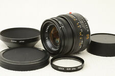 LEICA SUMMICRON-M 50mm f/2 E39 w/hood,filter  [Excellent] from Japan(06-L69)