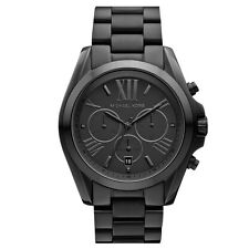 Michael Kors MK5550 Bradshaw Al Black Chronograph New Wrist Watch Free Shipping