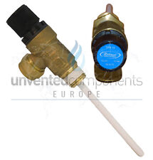 "OSO Pressure & temperature relief valve 1/2"" 10bar 90° C 550853"