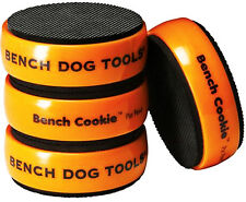 "BENCHDOG Bench Cookie Workpiece Rubber Work Grippers 4 Piece 3""x1"" 989466 U288"