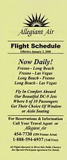 Allegiant Air Timetable  January 3, 2000 =