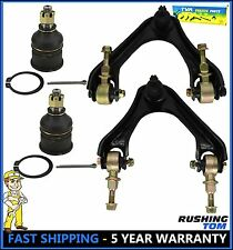 Honda Accord Odyssey Acura 4 Pc Kit Front Upper Control Arms & Lower Ball Joints