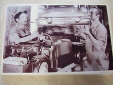 1956 PONTIAC ELECTRIC TOY CAR ASSEMBLY  11 X 17  PHOTO  PICTURE