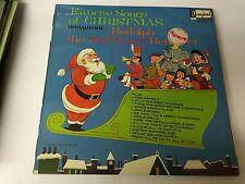 1968 FAVORITE SONGS FROM CHRISTMAS Disneyland 1319 LP MINT/EX