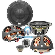 "MOREL SUPREMO 602 6.5"" 2-WAY CAR AUDIO COMPONENT MIDS TWEETERS SPEAKERS NEW"