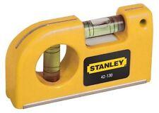Stanley 0-42-130 Nivel de burbuja de bolsillo 87 mm 42-130 magnético