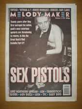 MELODY MAKER 1996 FEB 3 SEX PISTOLS REFORM BJORK LUSH