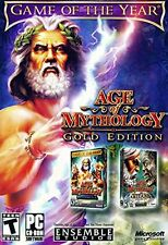 Age of Mythology Gold Edition PC NEW and Sealed ORIGINAL RELEASE AS PICTURED