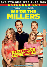 WE'RE THE MILLERS EXTENDED 2 DVD .NEW SEALED, FREE SHIPPING