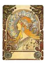 Alphonse Mucha 1 060 A4 Photo Print art nouveau