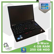 Lenovo ThinkPad X220 | i5 2,5 GHz | 4 GB Ram | 250 GB HDD |  B Ware